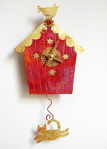 Little Red Birdhouse